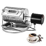 BananaB 40W Edelstahl Kaffee Röster Maschine 220V Household Coffee Bean Roasting Machine 600g Coffee Beans Baking Roaster Machine (40W)