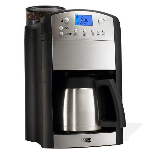Beem Aroma Fresh Perfect Thermolux Kaffeemaschine mit Mahlwerk und Thermoskanne