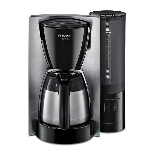 Bosch Kaffeemaschine mit abnehmbaren Wassertank Comfortline Thermoskanne edelstahl