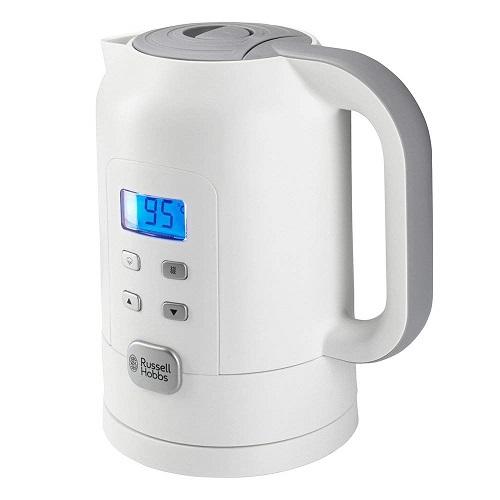 Russell Hobbs Wasserkocher mit Temperatureinstellung Temperaturwahl Temperaturanzeige