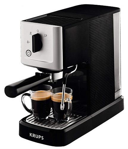 italienische Kaffeemaschine Siebträgermaschine edelstahl